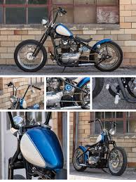 tc bros choppers blue collar bobber xs650 build