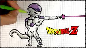 Dessin Freezer Pixel Art Dbz Youtube