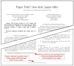 Instruction For Submission Of Final Version Of Conference Paper And