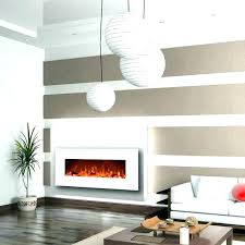 led wall mount fireplace ed electric insert mounted