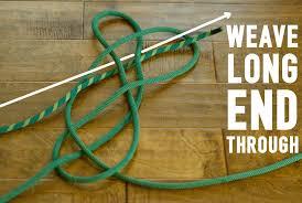 climbing rope rug step 6