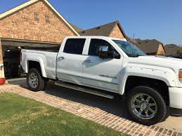 Perfect Wheel Offset + Fender Flare Combo - Chevy and GMC Duramax ...