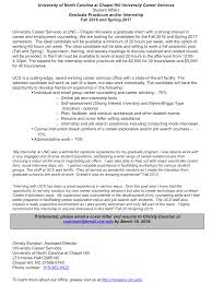Unc Career Services Cover Letter - April.onthemarch.co