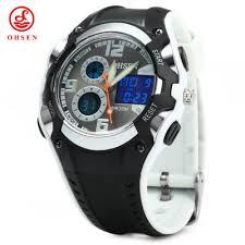 mens watches rubber band best deals online shopping gearbest com ohsen ad1309 men sports digital watch
