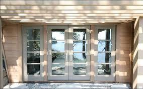 aluminum office doors clear glass entrance office doors