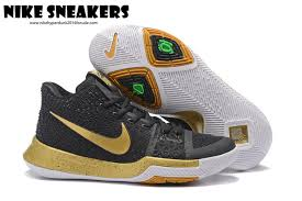 nike basketball shoes 2017 release. 2017 new release nike kyrie irving iii 3 mens basketball shoes black golden