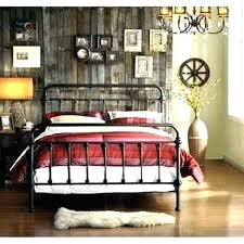 Iron Bed Frames King Black Metal Frame Amazing Queen Size Ikea ...