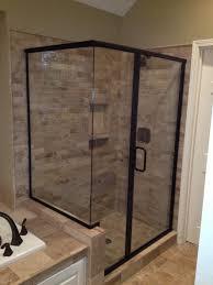 black framed shower doors movimento pelas serras e guas framed glass shower door parts