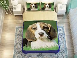 Small Picture Aliexpresscom Buy cute 3d Christmas Beagle Dogs print bedding