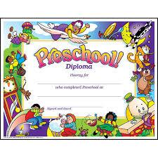 Prek Diploma Pre K Kindergarten Cap Gown Tassel And Diploma Certificate Set