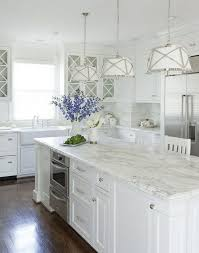 The Luxe Lifestyle Kitchen Inspiration Craving Gray U0026 White White Cabinets With Marble Countertops E59