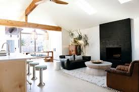 black brick fireplace design ideas