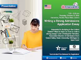 writing a strong admissions application essay explore want to learn on how to write a strong essay join christopher hendree associate director of admission from grand valley state university michigan to