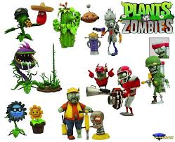 plants vs zombies garden warfare select figure two pack