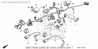 honda cb nighthawk n kph wire harness ignition wire harness ignition coil schematic