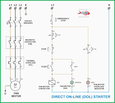wiring diagram for dol starter wiring diagrams schematics Two Speed Motor Connections at Motor Connection Diagram For Panasonic