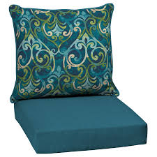 garden treasures 2 piece salito marine deep seat patio chair cushion