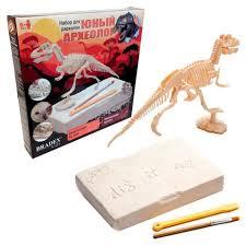 <b>Набор</b> для раскопок <b>BRADEX Юный археолог</b>. Бронтозавр ...