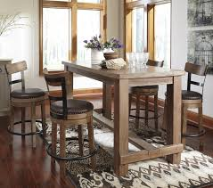 Ashley Furniture Kitchen Table Sets Signature Design By Ashley Furniture Pinnadel 5 Piece Counter