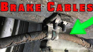 how to replace and adjust parking brake cables how to replace and adjust parking brake cables