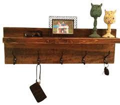 Floating Entryway Shelf Coat Rack The Wooden Owl Rustic Entryway Shelf And Coat Rack View In With 49