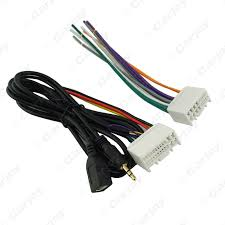 online get cheap car audio wiring harness aliexpress com Audio Wiring Harness car audio cd stereo wiring harness adapter with usb aux(3 5mm) plug audio wiring harness harley