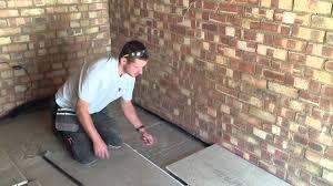 installing a chipboard floating floor