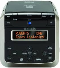 pillow radio. roberts sound38 cd/dab/fm stereo clock radio with cd bookmark pillow t