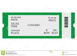 Concert Ticket Maker Concert Ticket Template Free Download Complete Guide Example 7