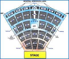 Walnut Creek Amphitheater Seating Chart Walnut Creek Amphitheatre Online Charts Collection