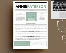 Resume Template Free Creative Templates For Mac Contemporary In