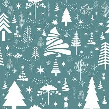 vintage christmas pattern. Contemporary Christmas Vintage Christmas Pattern With Various Fir Trees Decoration On Vintage Christmas Pattern R