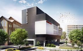 Конкурсный проект Школа Искусств в Лондоне Архитектура и  Конкурсный проект Школа Искусств в Лондоне Курсовой проект ИжГТУ им М