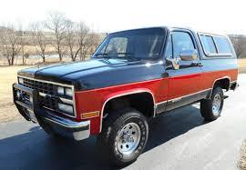 All Original 25K Miler: 1989 Chevrolet Blazer K5 | Bring a Trailer