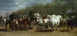 rosa bonheur the horse fair 1853 1855 metropolitan museum of art