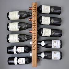 wine rack. Solid Oak Wine Rack