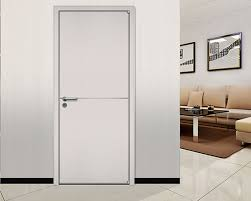 office door design. Italian Wood Door Design, Interior Office Door, Simple White Design