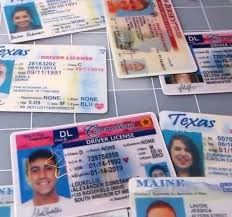 Driving Of - License To American Types Usa Door Back