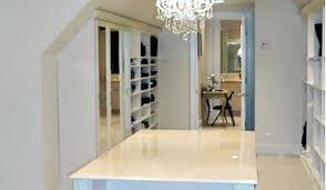 Small Picture Closet Works Closet and Storage Systems for Slanted or Sloped Ceilings