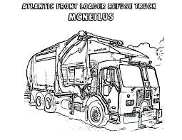 Free Garbage Truck Coloring Sheets Garbage Truck Coloring Page Free