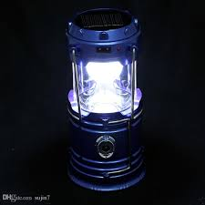 solar camping lamp amphibious type rechargeable camping lantern multi function folding portable outdoor camping lamp lighting