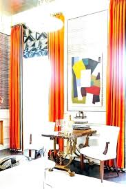 orange and white curtains orange curtains for living room orange and white curtains living room new eclectic with high ceilings orange and white striped