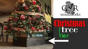 Christmas Tree Box | Make a DIY cover for your tree base (CMRW#41) - YouTube