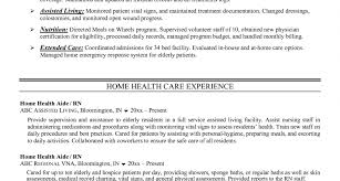 Home Care Aide Sample Resume Customizable Money Template