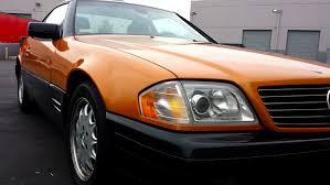 Mercedes SL600 - Orange Pearl and Black — Incognito Wraps