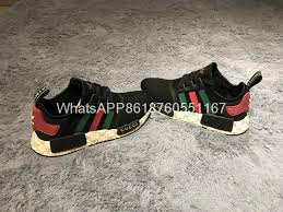 gucci x adidas. 2017 aaa lv x gucci adidas black gucci nmd_r1 joint version sneakers shoes 7