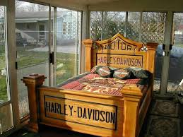 cama h d harley davidson decor