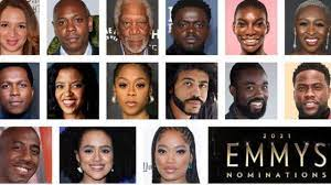 Diversity in 2021 Emmy Nominations