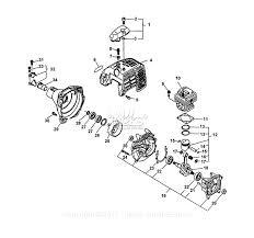 Echo srm 3110 type 2e parts diagram for engine fan housing rh jackssmallengines 2e engine