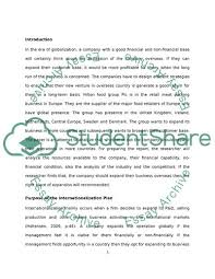 Essay On Marketing Management Global Marketing Management Essay Example Topics And Well